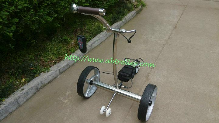 Patented Wireless Remote Controlled stainless steel Golf Trolley, TOP SALES 11