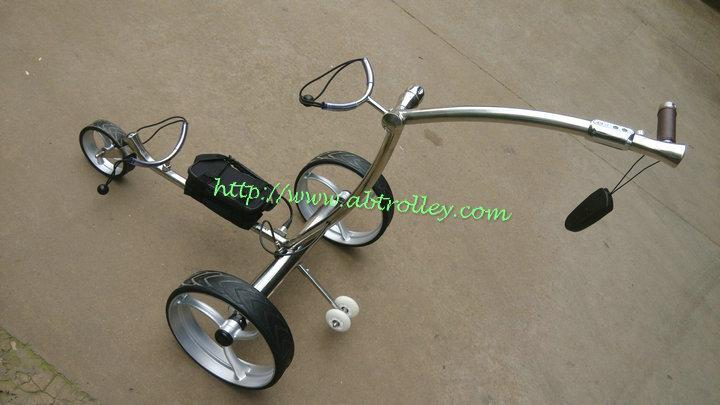 2019 Wireless Remote Controlled stainless steel Golf Trolley 4