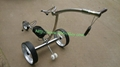 2019 Wireless Remote Controlled stainless steel Golf Trolley 9