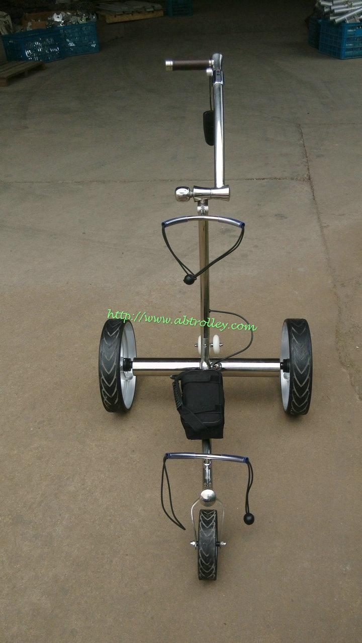 2019 Wireless Remote Controlled stainless steel Golf Trolley 14