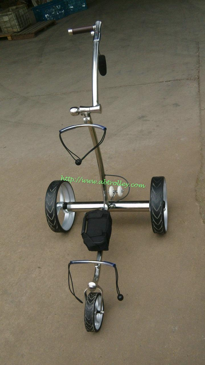 2019 Wireless Remote Controlled stainless steel Golf Trolley 15