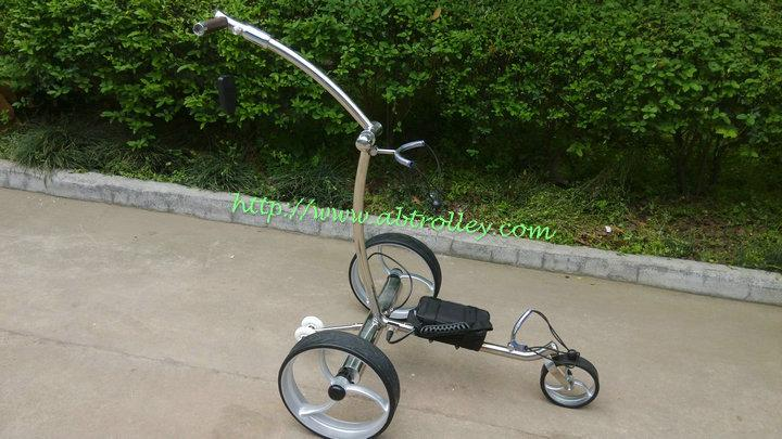 2019 Wireless Remote Controlled stainless steel Golf Trolley 16