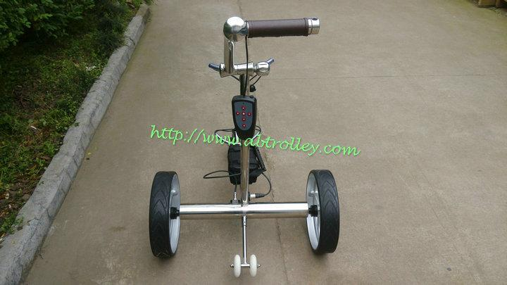 2019 Wireless Remote Controlled stainless steel Golf Trolley 20