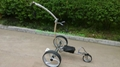 High quality Stainless steel Golf Trolley with double linix motors