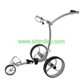 Black noble stainless steel electric golf trolley