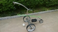 Remote control Electric Stainless steel Golf Trolley of double quite motors 6