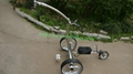 Remote control Electric Stainless steel Golf Trolley of double quite motors 13