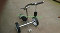 Remote control Electric Stainless steel Golf Trolley of double quite motors 16