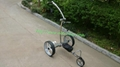 Remote control Electric Stainless steel Golf Trolley of double quite motors 19