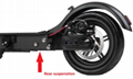 dual electric motorcycle with pedal high Quality 300W aluminium electric scooter