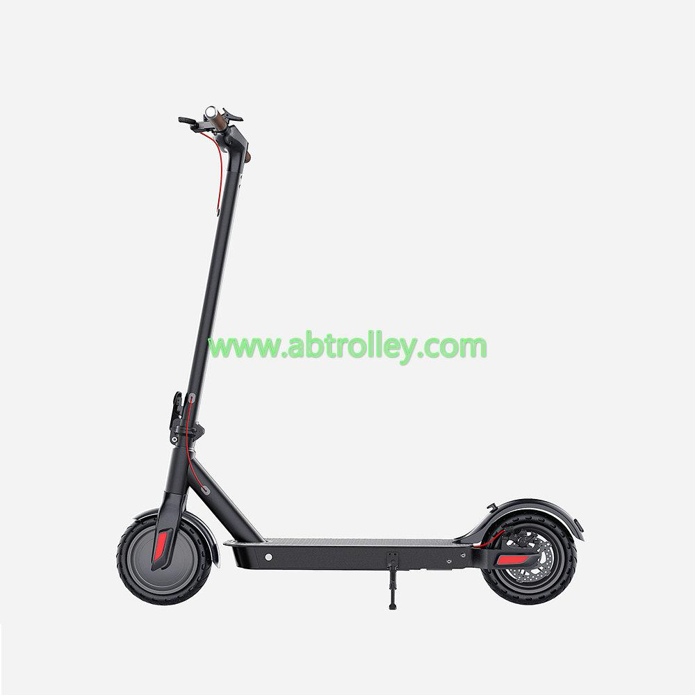 dual electric motorcycle with pedal high Quality 300W aluminium electric scooter 1