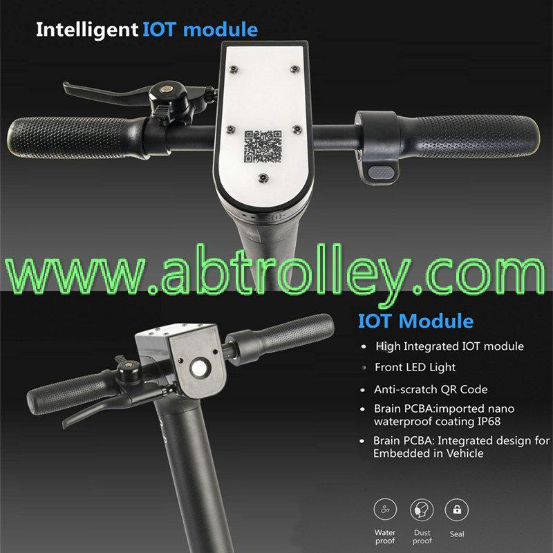 8.5 inch Sharing electric scooter powerful with two wheel folding 8