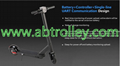8.5 inch Sharing electric scooter powerful with two wheel folding 15