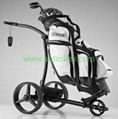 X3R Fantastic remote control golf trolley with lithium battery, tubular motors