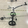 Noble 007R remote stainless steel golf trolley tubular motors lithium battery