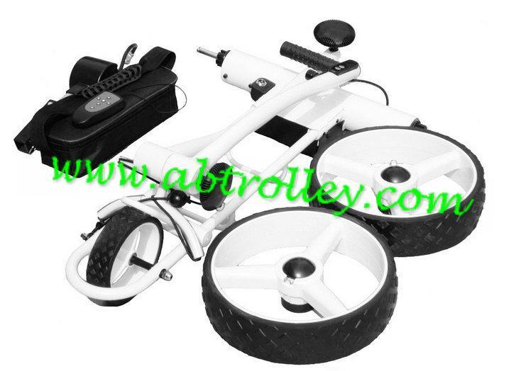 X3R Fantastic remote control golf trolley with lithium battery, tubular motors 7