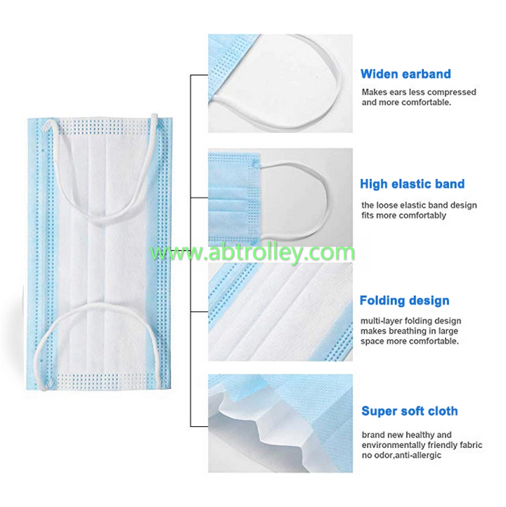 3-Ply Disposable Face Mask CE approved 7