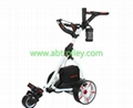 S1T2 sports electric golf trolley(black, white, red are available)