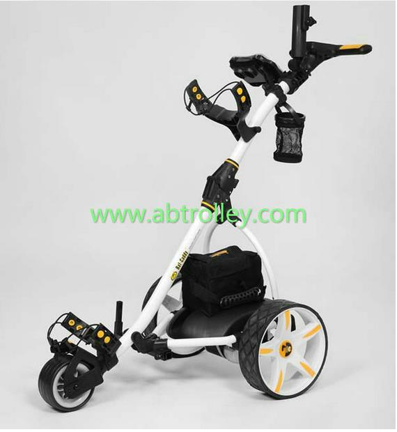 S1T2 sports remote golf trolley(black, white, red are available) 13