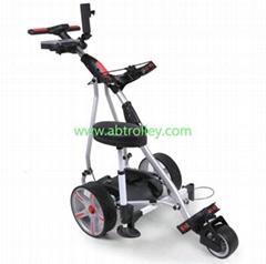 P1 digital sports electric golf trolley