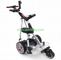 P1 digital sports electric golf trolley