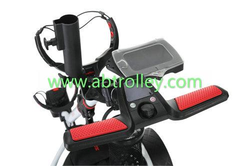 S1T2 sports remote golf trolley tubular motors lithium battery 5