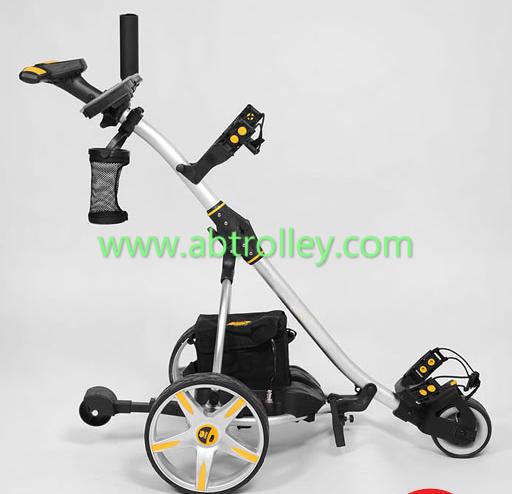 S1T2 sports remote golf trolley tubular motors lithium battery