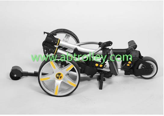S1T2 sports remote golf trolley tubular motors lithium battery 2