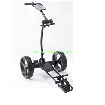 Germany Designer Hot Electric Remote push Golf Trolley Golf Cart 5