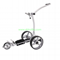 Germany Designer Hot Electric Remote push Golf Trolley Golf Cart 6