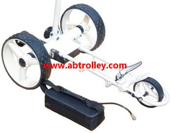 Green Ground Anti-tip Remote Control Electric Golf Trolley 4
