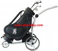 Green Ground Anti-tip Remote Control Electric Golf Trolley 2