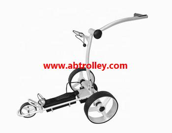 Green Ground Anti-tip Remote Control Electric Golf Trolley 6