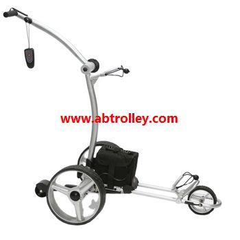 Green Ground Anti-tip Remote Control Electric Golf Trolley 1
