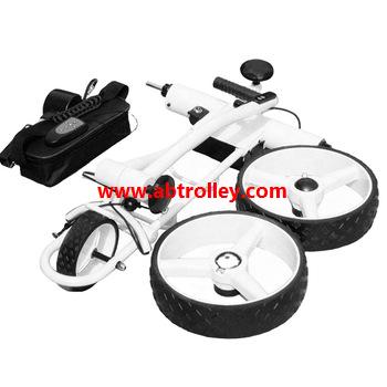 Green Ground Anti-tip Remote Control Electric Golf Trolley 9