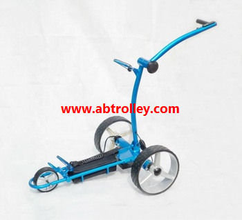 Green Ground Anti-tip Remote Control Electric Golf Trolley 10