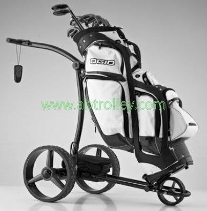 Green Ground Anti-tip Remote Control Electric Golf Trolley 11