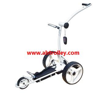 Green Ground Anti-tip Remote Control Electric Golf Trolley 12