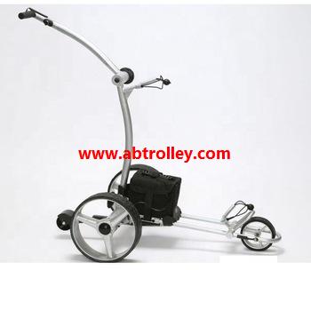 Green Ground Anti-tip Remote Control Electric Golf Trolley 14