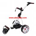Motor Caddy Golf Trolley Buggy Remote Control Electric Golf Trolley With Seat