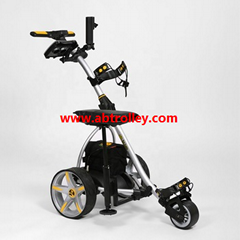 Motor Caddy Golf Trolley Buggy Remote Control Electric Golf Trolley With Seat