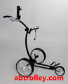 Germany design good looking push golf cart pull golf trolley
