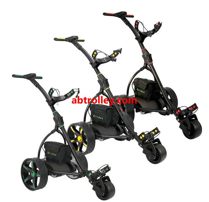 Germany Designer Hot Electric Remote push Golf Trolley Golf Cart with seat 1