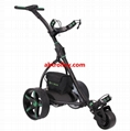 Germany Designer Hot Electric Remote push Golf Trolley Golf Cart with seat 6