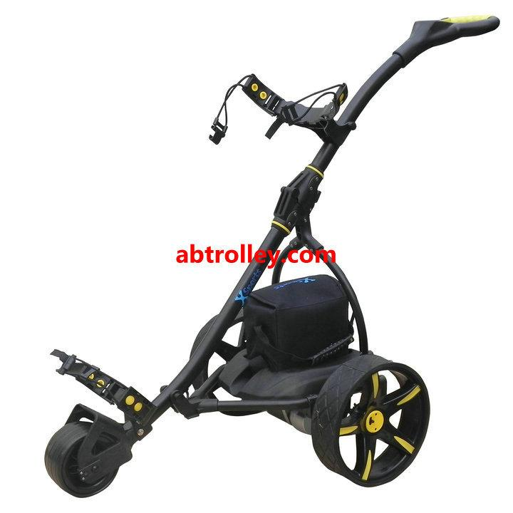 Germany Designer Hot Electric Remote push Golf Trolley Golf Cart with seat 10