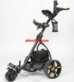 Germany Designer Hot Electric Remote push Golf Trolley Golf Cart with seat 11