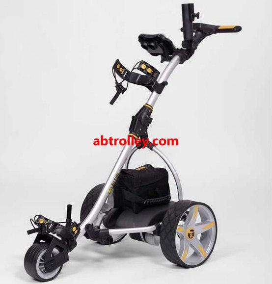 Germany Designer Hot Electric Remote push Golf Trolley Golf Cart with seat 12