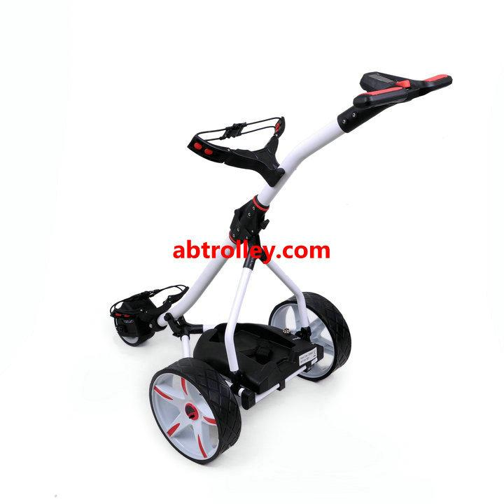 Germany Designer Hot Electric Remote push Golf Trolley Golf Cart with seat 14