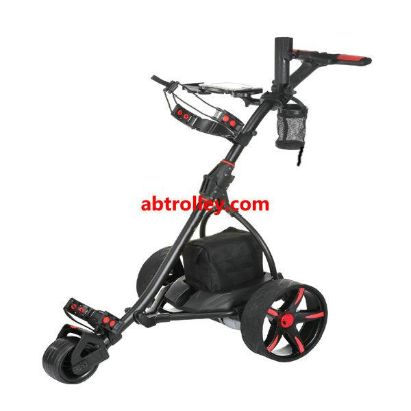 Germany Designer Hot Electric Remote push Golf Trolley Golf Cart with seat 15