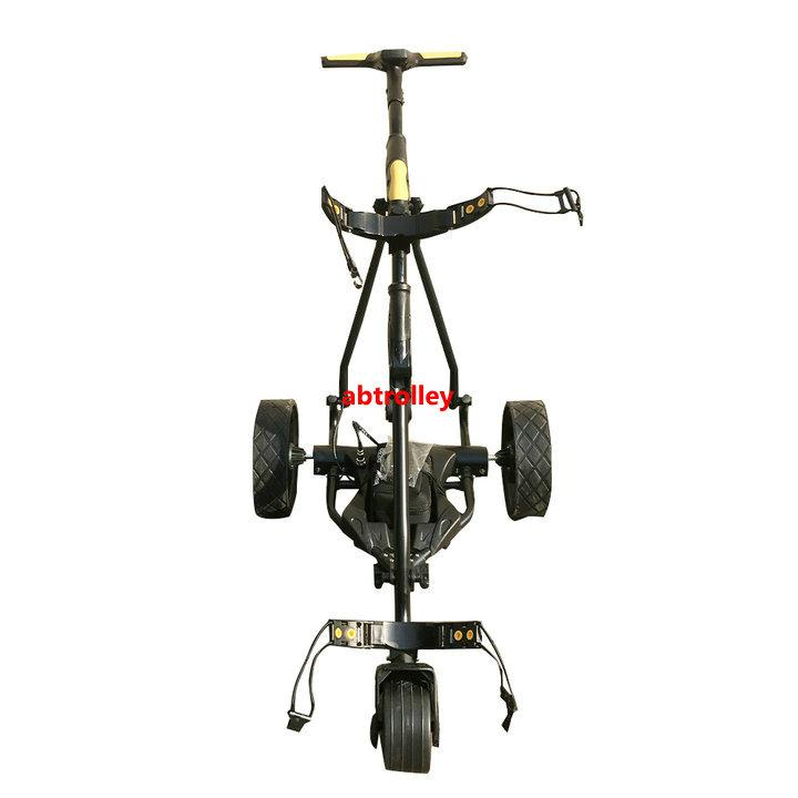 Electric Cruiser Golf b   y With Power Motor Remote Golf Trolley With seat 10